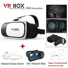 Google Headset Cardboard 2nd VR BOX Virtual Reality 3D Glasses Bluetooth Control