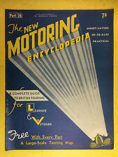 The NEW MOTORING ENCYCLOPEDIA  1937 - Part 28 - Radial Engine - Renault - Riley
