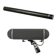 Rode NTG4+ Shotgun Microphone with Rode Blimp