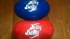 "RED and blue JELLY BELLY 15"" Plastic Hanging Jelly Bean Candy Store Display wall"