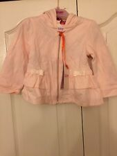 Ted Baker Baby Girls Hooded Sweater / Jacket. Designer. 12-18 Months. BNWT