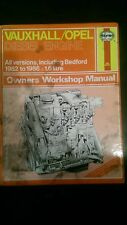Vauxhall Opel Bedford Diesell engine workshop manual    Haynes 473