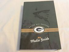 2015 Green Bay Packers Official Media Guide Book Lombardi on cover