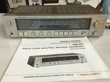 Vintage Realistic STA-115 solid state am/fm stereo reciever tested works