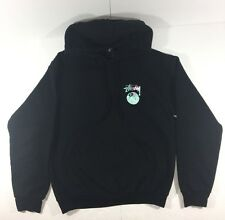 RARE STUSSY Men's 8-Ball Hoodie Size Small Sweatshirt Eight Ball Supreme Skate