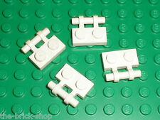 LEGO white Plate 1 x 2 with Handle 2540 / Set 7659 10196 10214 10198 6541 6286..
