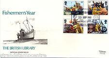 1981 Pesca-Biblioteca británica Oficial-Gato £ 35!