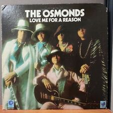 The OSMONDS Love Me for a Reason  LP Brothers Donny Marie MGM 4939