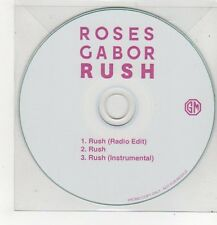 (FF264) Roses Gabor, Rush - DJ CD