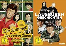 Hansi Kraus DIE LÜMMEL VON DER ERSTEN BANK & LAUSBUBENGESCHICHTEN 12 DVD Box NEU