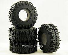 122mm diameter 2.2 rubber mud tire tyre w/ foam insert for 1/10 rc crawler car