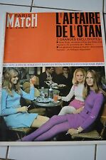 PARIS MATCH N°888 mini jupe dean rusk OTAN gallois & stehlin