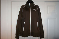 THE NORTH FACE Mens Full Zip Track Jacket Brown Sz XL - New Without Tags