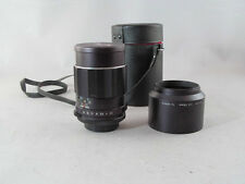 Asahi Pentax SMC Takumar F/2.5 135mm Lens M42 Mount With Case And Hood
