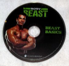 BODY BEAST - BEAST BASICS - NEW DVD