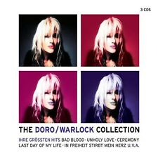 "DORO ""THE DORO/WARLOCK COLLECTION"" 3 CD NEU"