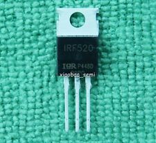 15pcs New IRF520 IRF520N Power MOSFET N-Channel IR TO-220