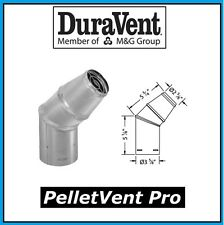 "DURAVENT PELLETVENT PRO Pipe 3"" Diameter Horizontal Cap #3PVP-HC NEW!"