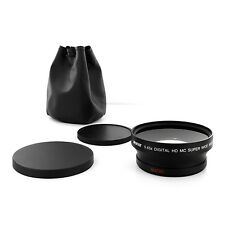 0.43X WIDE ANGLE MACRO Camera Lens For Nikon NIKKOR 18-200mm AF-S Zoom Lens 72mm