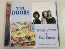 THE DOORS OTHER VOICES & FULL CIRCLE 2on1 CD 17 TRK GERMAN IMPORT