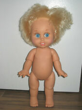 +Galoob Baby Face doll - So Innocent Cynthia articulated Nude Loose