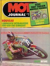 MOTO JOURNAL  486 KTM 125 RV KAWASAKI Z500 B Z650 F Z750 DUCATI 600 Pantah 1980