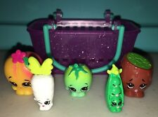 Shopkins Season 3 Retired Lot of 5 Fruits & Vegetables - Common & Rare