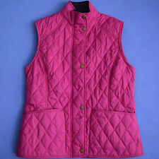 BARBOUR VEST  QUILTED   W`s size USA 8 / UK 12