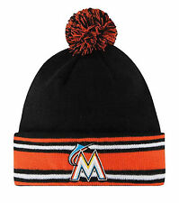 UNISEX NEW ERA MIAMI MARLINS AC KNIT CAP (WINTER) *NEW WITH TAGS*