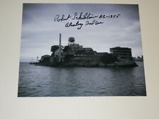 Alcatraz Inmate ROBERT SCHIBLINE Signed 8x10 Photo AUTOGRAPH