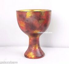 INDIANA JONES HOLY GRAIL Chalice Last Crusade Cup of Christ Props Replica Resin