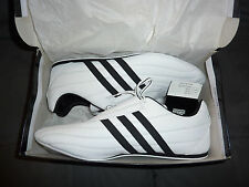 Adidas Adi-Kee Shoes - Size 13 - White/Black - Martial Arts - New In Box