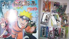 Bandai Naruto trading figure gashapon part 7 x10
