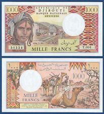Djibouti/Djibouti 1000 francs unc p. 37 E