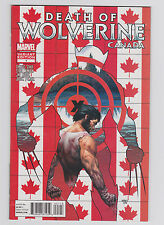 Death of Wolverine #1 Canada Variant Charles Soule All-New Marvel Now 2014