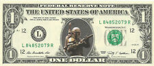 Boba Fett (Star Wars)  {In Color} Crisp, New Dollar Bill  - REAL MONEY