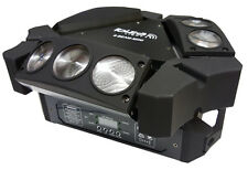 "IBIZA LIGHT"" 9 Beam-Mini"" 9x 10 watts rgbw CREE LED spider effet! Center Light!"