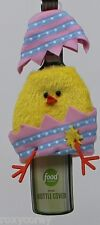 Food Network Easter Yellow Chick in Egg Wine Bottle Cover Great Unique Gift Idea