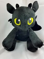 DreamWorks How To Train Your Dragon Toothless Plush Build A Bear Stuffed Toy