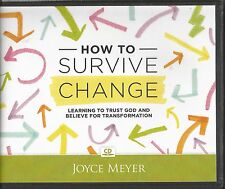 HOW TO SURVIVE CHANGE                4 CDs      Joyce Meyer