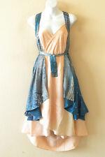 """M590 Reversible Vintage Silk Magic 30"""" Length Wrap Skirt Halter Tube Dress + DVD"""