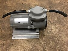 THOMAS 107CDC20 E COMPRESSOR VACUUM PUMP 12 VOLT DC 1/10 HP
