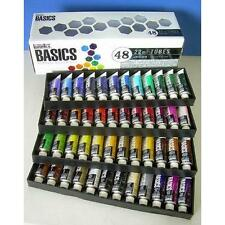 Liquitex BASICS Acrylic Paint Tube 48-Piece Set New