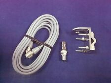NEW RG8X 18FT COAX CABLE,RV1 BRACKET,FIRESTIK K-4A STUD CB,HAM,SCANNER ANTENNA
