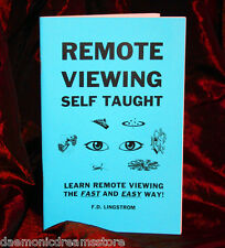 REMOTE VIEWING Finbarr. Grimoire. Magic. Witchcraft Magick. Psychic Power