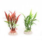 Hot Water Grass Plastic Water Plant for Aquarium Fish Tank Ornament Decor AF24