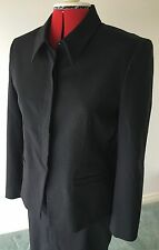 Country Road Women's Business Black Jacket & Skirt Suit Sz 12 Made In Australia