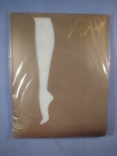 """Fogal Style 156 Orage """"Crazy Raindrops"""" Pantyhose Size Large in Baikal"""