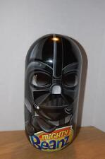 MIGHTY BEANZ DARTH VADER STAR WARS STORAGE CONTAINER WITH LUKE SKYWALKER BEANZ