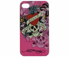 Ed Hardy Love mata lentamente lks cover protección, funda protectora, funda bolsa Apple iPhone 4 4s